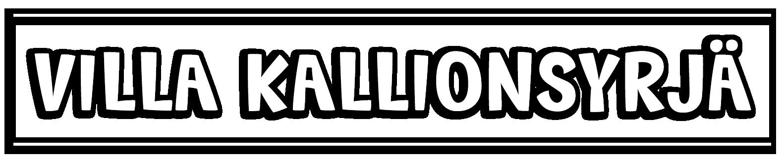 VILLA KALLIONSYRJÄ